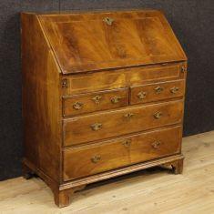 Mobile scrittoio secrétaire comò in legno epoca 800