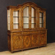 Mobile vetrina credenza in legno epoca 900