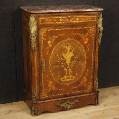 Mobile 1 anta 1 cassetto comò Napoleone III
