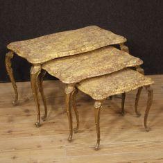 Tavoli bassi da salotto stile antico epoca 900