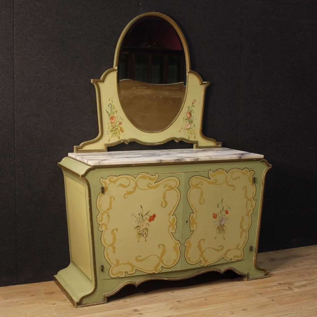Sideboard Dresser Furniture Commode Antique Style Art Nouveau Mirror