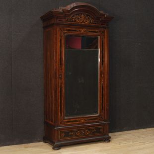 Italian wardrobe in inlaid wood