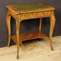 Mobile tavolo in bois de rose e mogano epoca 900