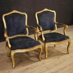 Mobili sedie salotto in legno epoca 800