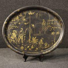 Mobile piatto decorazione stile antico 800
