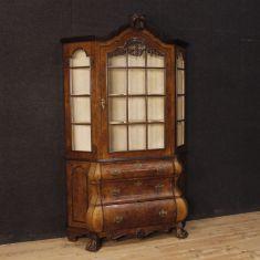 Libreria credenza in legno stile antico 900