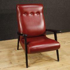 Sedia seduta mobile in legno ebanizzato 900