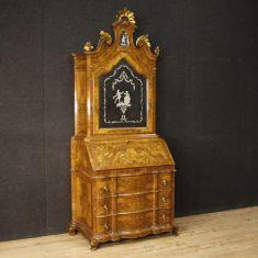 Mobile credenza in legno stile antico scrittoio 900