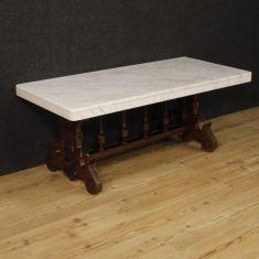 Tavolo basso da salotto in stile rinascimentale epoca 900