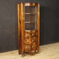 Mobile credenza da salotto con bronzi dorati 900