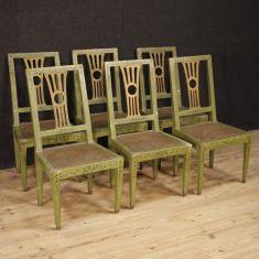 Mobili sedute poltrone in legno antiche 800