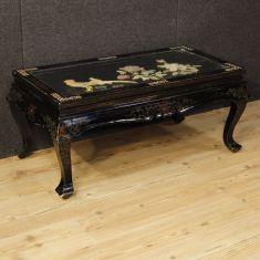 Tavolo basso da salotto in legno epoca 900