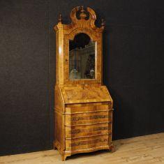 Mobile scrittoio credenza in legno epoca 900