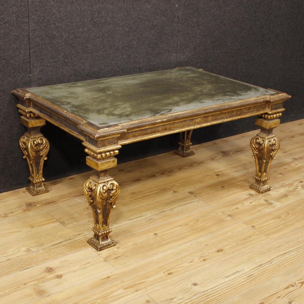 Tavolino italiano laccato e dorato in stile Luigi XVI - Vendita ...