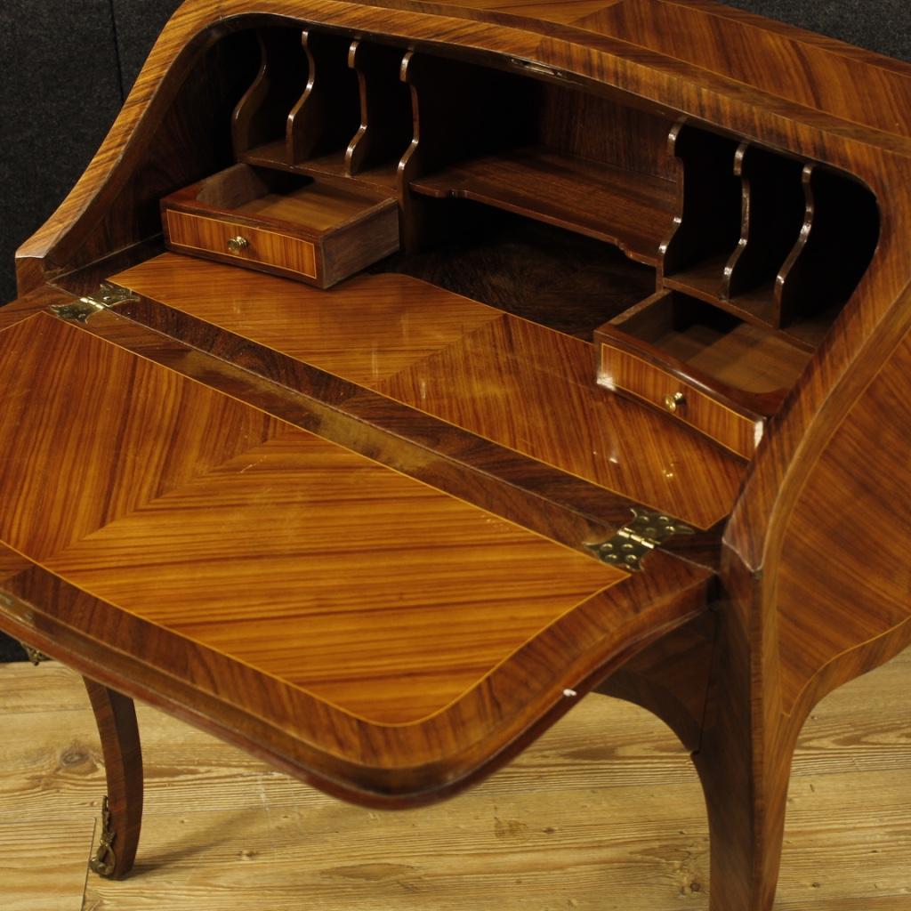 schreibschrank holz m bel sekret r schreibtisch franz sisch kommode antik stil ebay. Black Bedroom Furniture Sets. Home Design Ideas