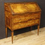Italian inlaid bureau in Louis XVI style