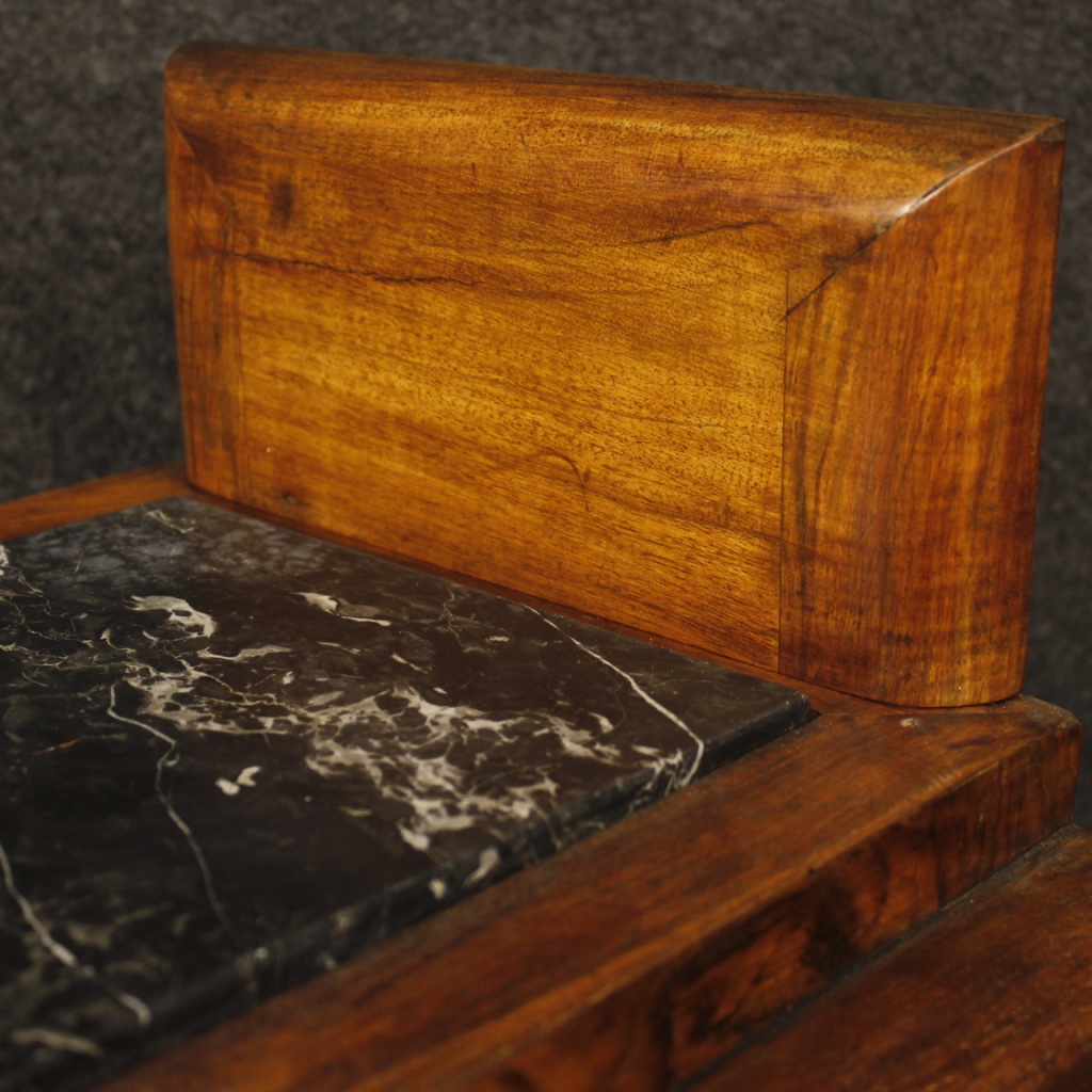 Pair of nightstands wooden furniture coffee tables inlaid antique style art deco ebay - Reasons choosing vintage style furniture ...
