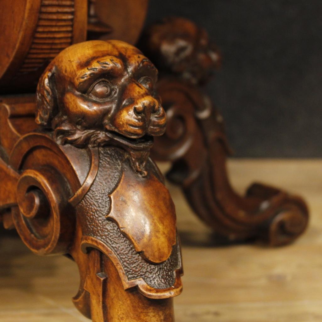 antik tisch wohnzimmer franz sisch walnuss holz m bel antiquariat 900 xix antike ebay. Black Bedroom Furniture Sets. Home Design Ideas