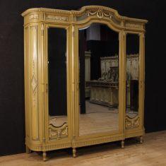 Mobile guardaroba in legno con specchi epoca 900
