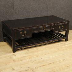 Tavolo basso da salotto stile antico 3 cassetti epoca 900