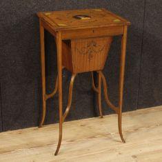 Tavolo da salotto mobile in legno epoca 800
