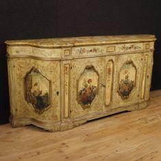 Mobile in legno a 4 ante e 2 cassetti epoca 900