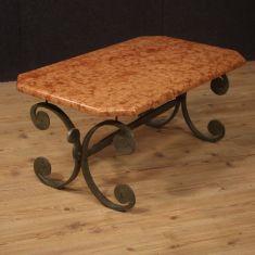 Tavolo basso da salotto stile antico 900