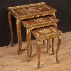 Mobili in legno stile antico da salotto 900