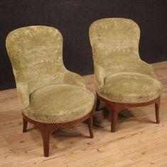 Sedie in legno stile antico salotto camera 900