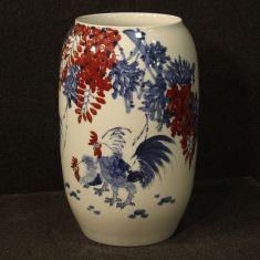 Coppa in ceramica smaltata stile antico