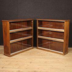 Mobili in legno moderno design vintage vetrine credenze