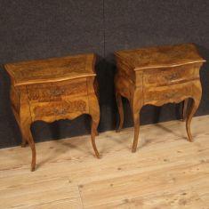 Tavolini mobili in legno stile antico 900
