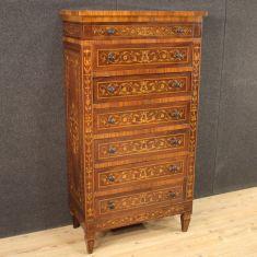 Mobile cassettone in legno stile antico comò 900