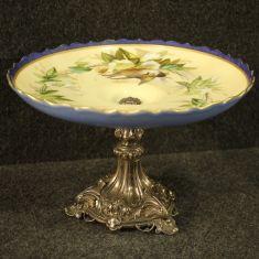 Mobile vaso base in argento stile antico 900