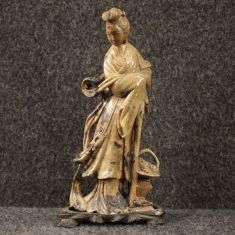 Statua mobile oggetto stile antico epoca 900