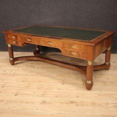 Mobile tavolo in legno stile antico bronzi 900