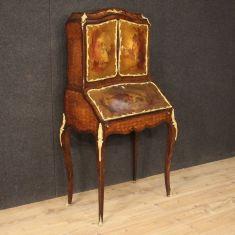 Mobile ribalta scrittoio in legno epoca 800