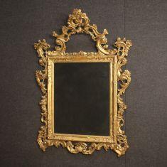 Cornice specchio mobile stile antico salotto 900
