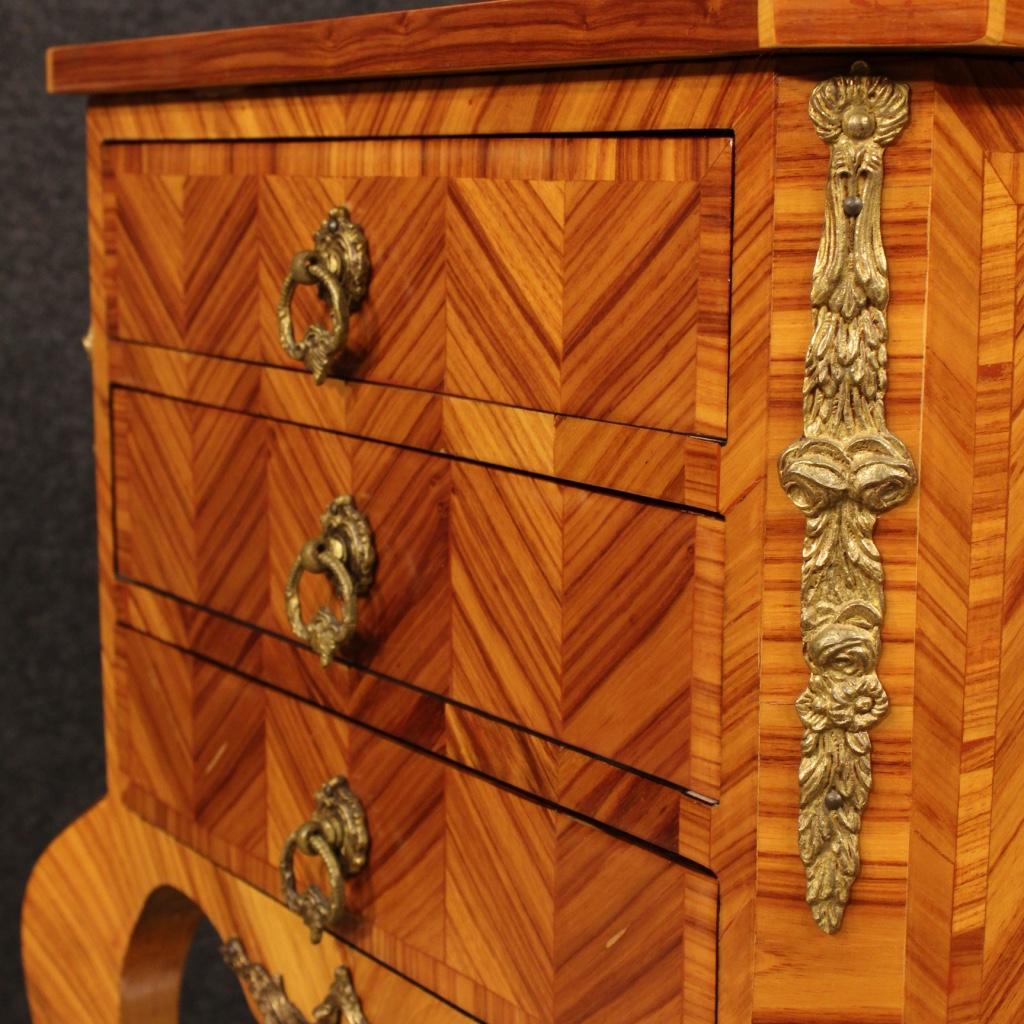 Annuncio tavolino francese in bois de rose con bronzi for Piani di casa francese in tudor