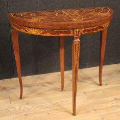 Tavolo in legno stile antico da salotto mobile epoca 900