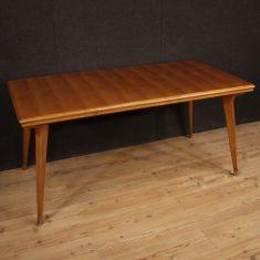 Tavolo da pranzo mobile in legno vintage 900