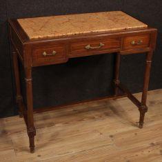 Scrittoio mobile in legno stile antico 900