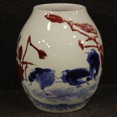 Coppa mobile in ceramica stile antico orientale