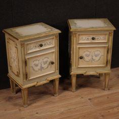 Mobili tavolini in legno stile antico salotto camera 900