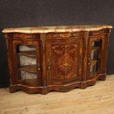 Mobile comò in legno stile antico salotto 900