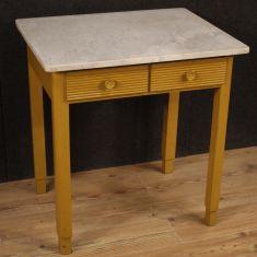 Tavolo mobile in legno stile antico 900
