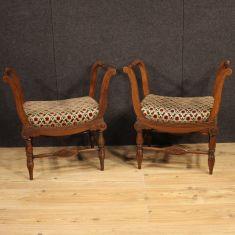 Mobili sedute stile antico epoca 900
