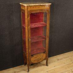Mobile credenza libreria in legno stile antico 900