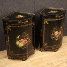 Credenze mobili in legno stile antico salotto 900