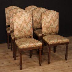 Poltrone sedute mobili in legno stile antico rustico 900